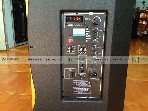 bảng điều khiển loa kéo ronamax mt15