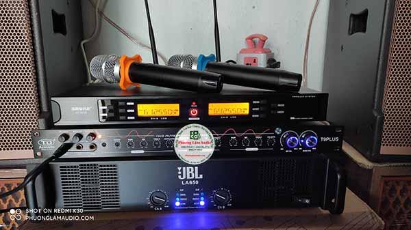 micro khong day hat karaoke shure ut 8500