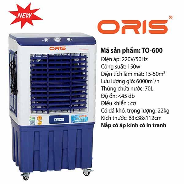 quat hoi nuoc oris to 600 chinh co